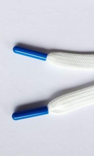 Plastikowa końcówka na sznurowadło